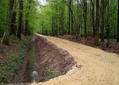 Шумски пут изграђен уз учешће средстава субвенција Буџетског фонда за шуме